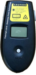 Alternative laser temperature measuring gun