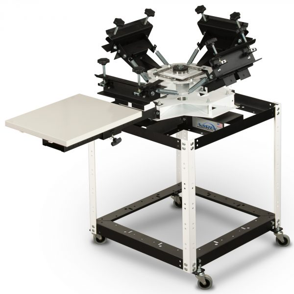 Vastex V100 1 Station 4 Colour Tabletop Screen Printing System With Optional Stand System