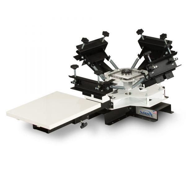 Vastex V100 1 Station 4 Colour Tabletop Screen Printing System