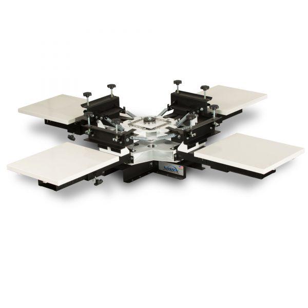 Vastex V100 4 Station 4 Colour Tabletop Screen Printing Carousel