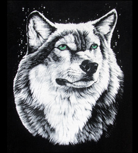 White ink on black t-shirt - how to get good high opacity prints onto dark backgrounds