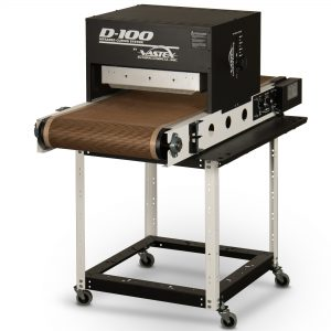 Vastex D100 Infra Red Conveyor Dryer With Optional S100 Stand System