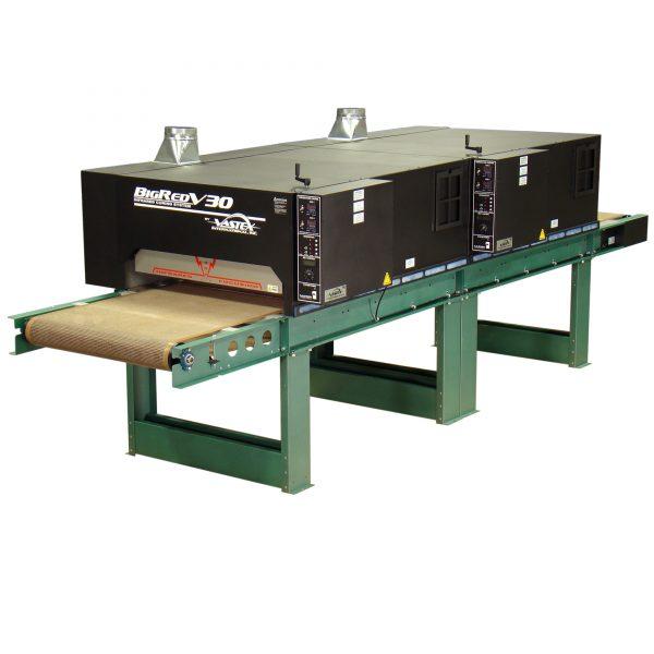 Vastex BigRed V3-30-2 Infra Red Conveyor Dryer