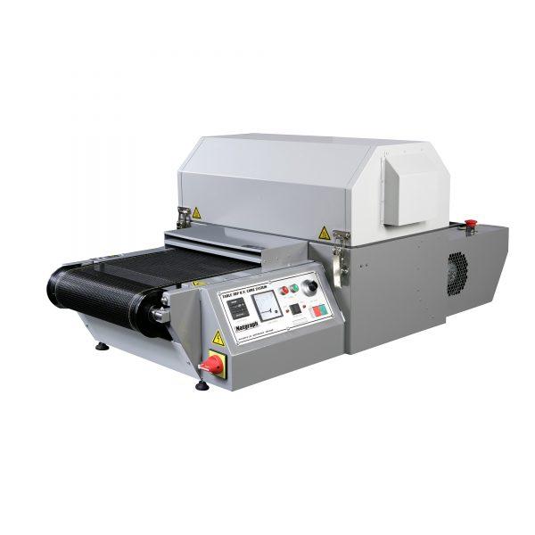 Compact tabletop UV dryer