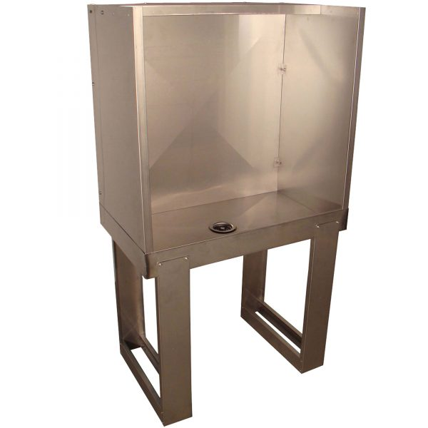 Vastex 3621 Stainless Steel Washout Booth