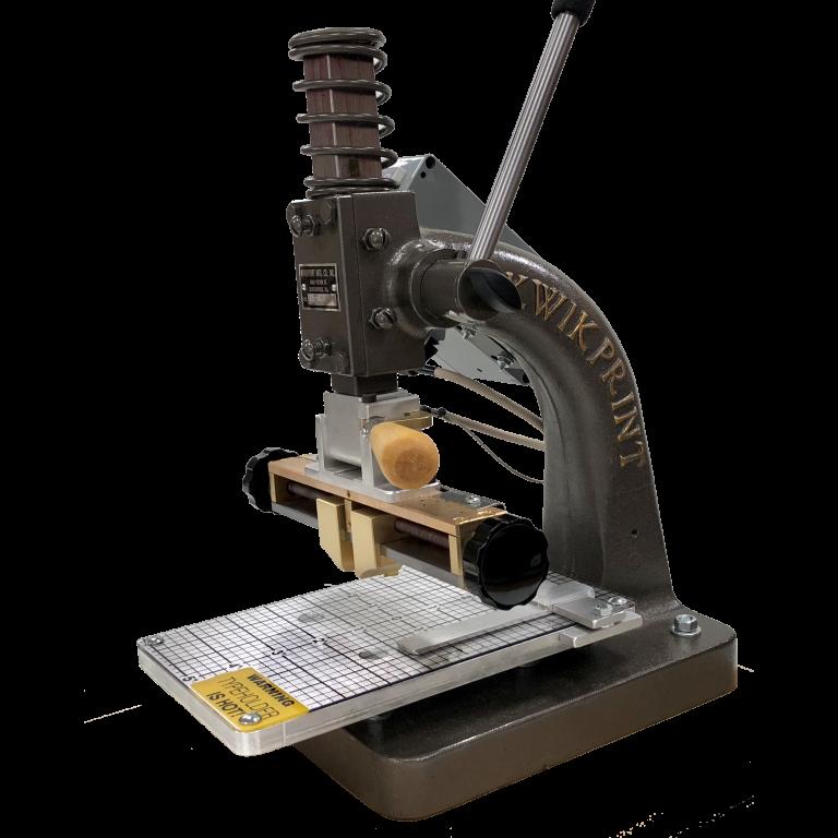 Kwikprint Model 25 Hot Foil Printing System