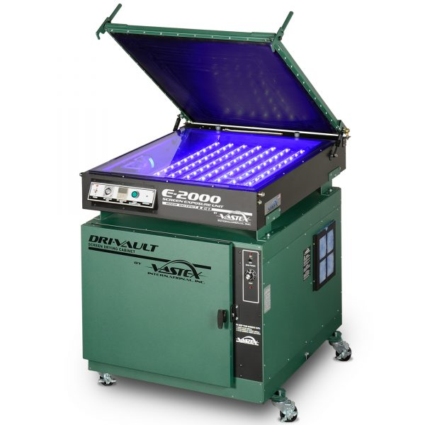Vastex DriVault 10 and E2000 LED exposure unit