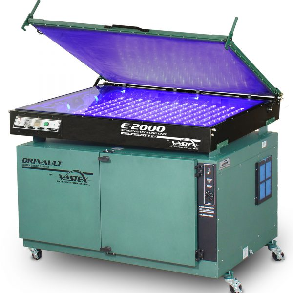 Vastex DriVault 20 and E2000 LED exposure unit