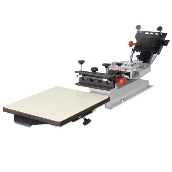 Vastex V100 1 Station 2 Colour Screen Printing System