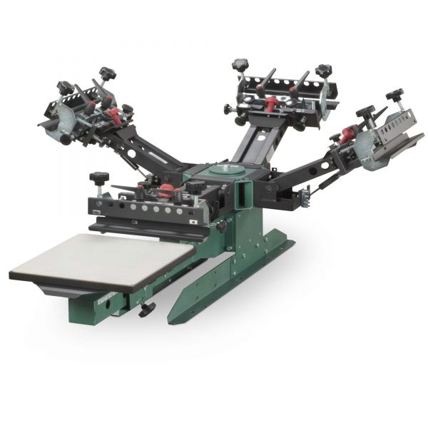Vastex V200 1 Station 4 Colour Screen Printing System