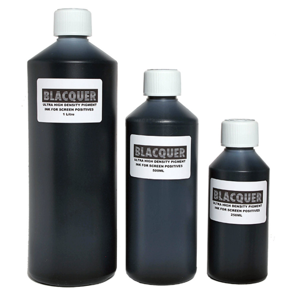 Inkjet ink for film positives | Blacquer