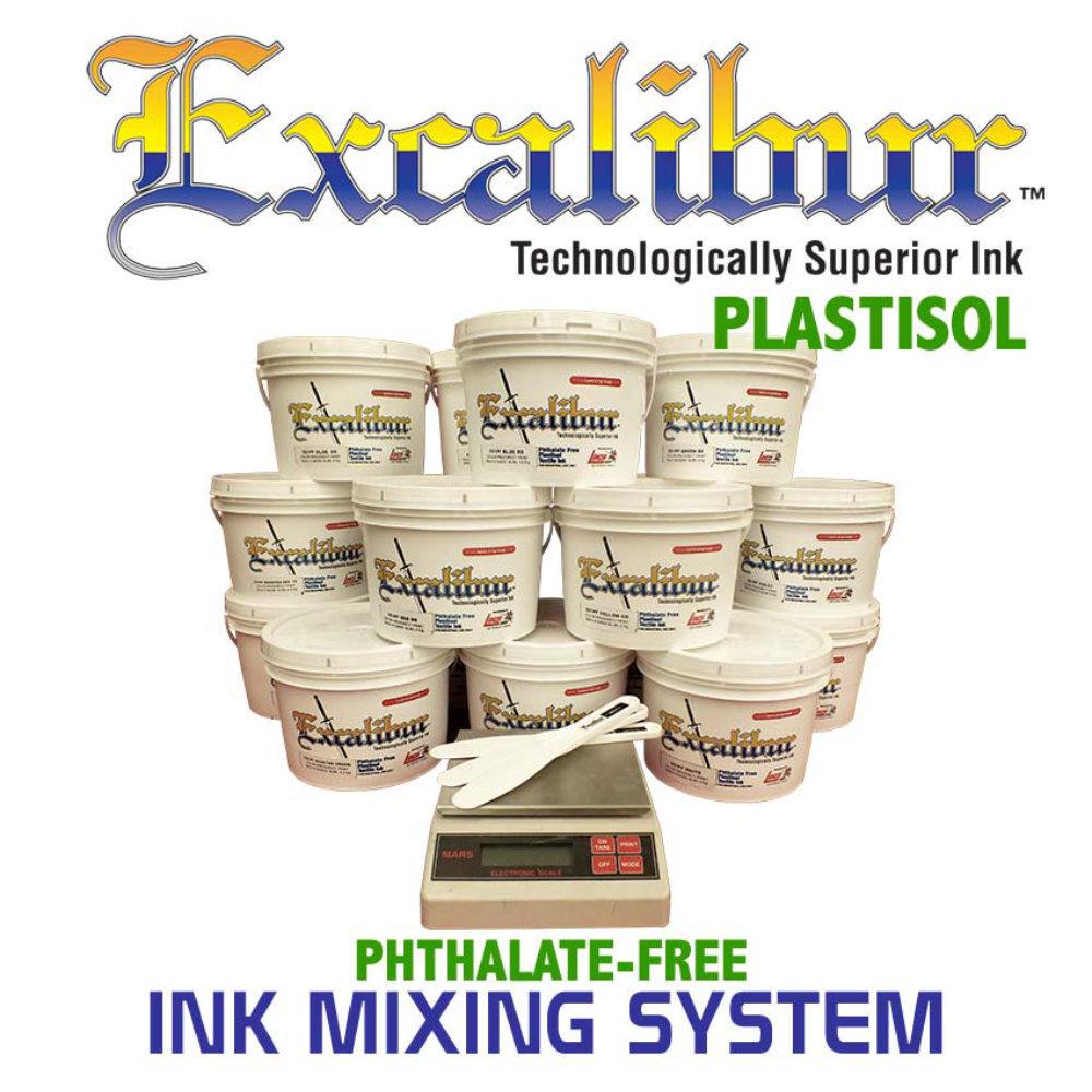 Lancer Excalibur Plastisol Ink Mixing System