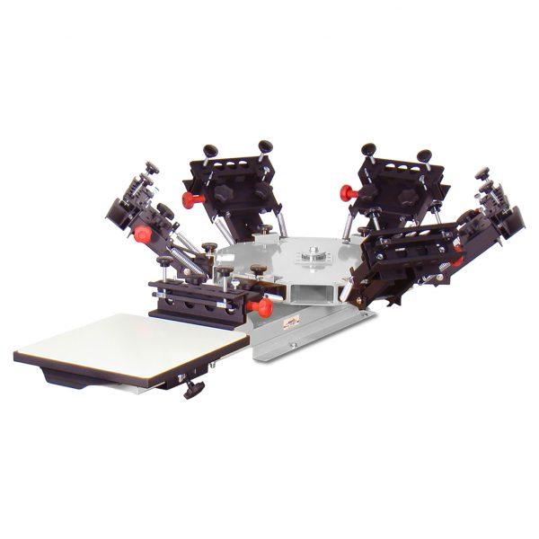 Vastex V1000 1 Station 6 Colour Tabletop screen printing system