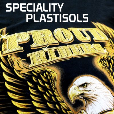 Speciaility Gold Printed Plastisol T-shirt