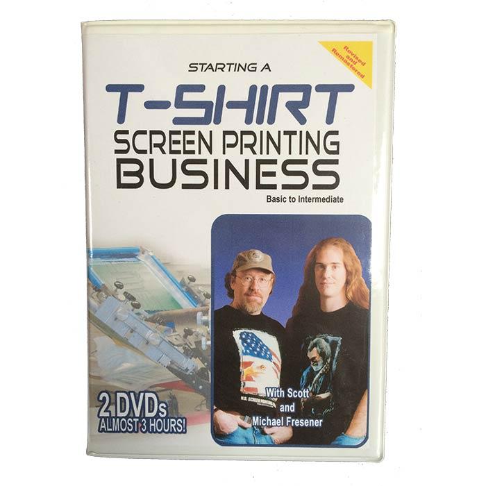 Starting A T-shirt Screen Printing Business DVD