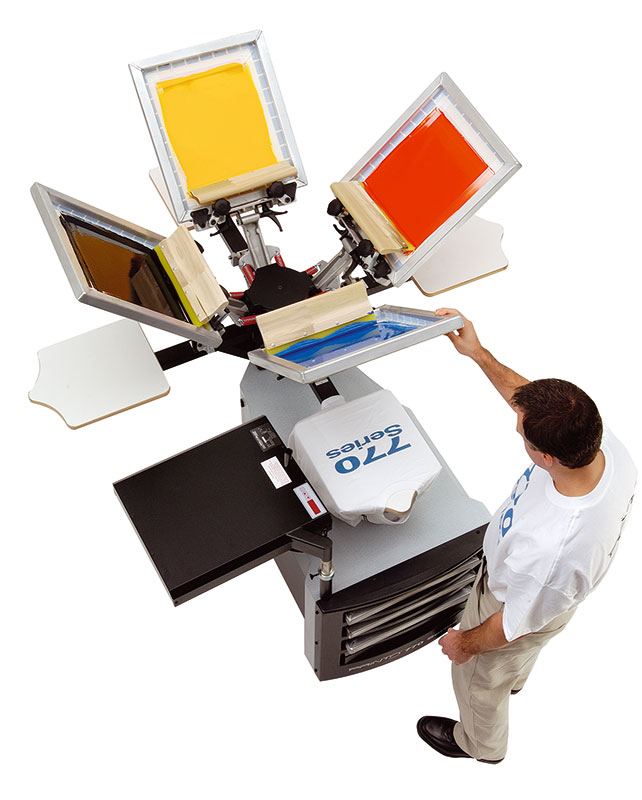 Screen Printing T-Shirts At Home Printa 770