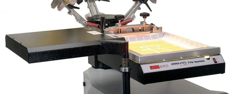 Printa 770 Screen Printing System Exposure Unit