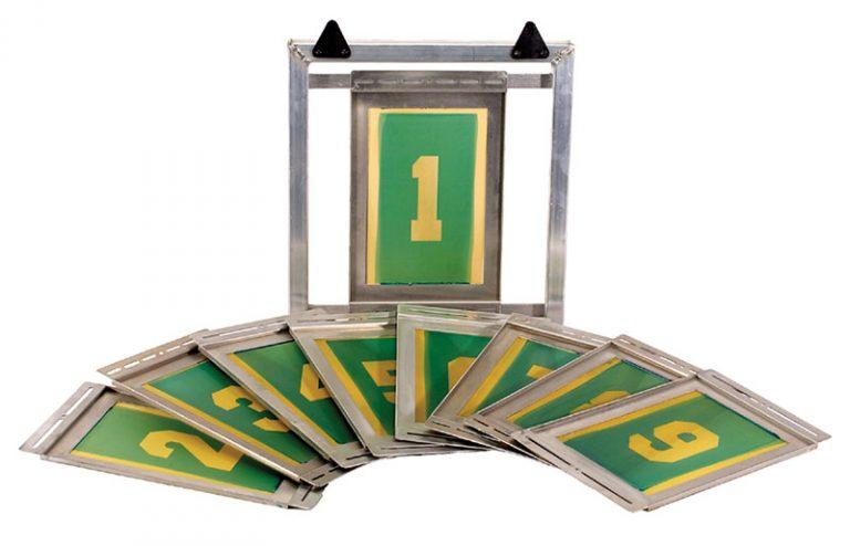 Printa 770 Athletic Numbering System