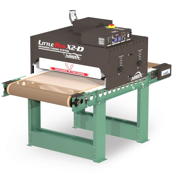 Vastex Little Red X2D conveyor dryer